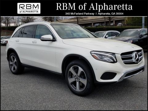 New 2018 Mercedes-Benz GLC 300 SUV 4MATIC®