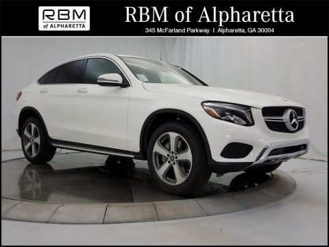 New 2018 Mercedes-Benz GLC 300 Coupe 4MATIC®