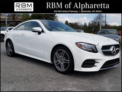 New 2018 Mercedes-Benz E 400 Sport Coupe 4MATIC®
