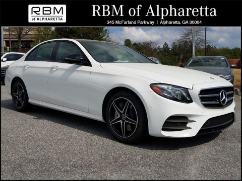 New 2018 Mercedes-Benz E 400 Sedan 4MATIC®