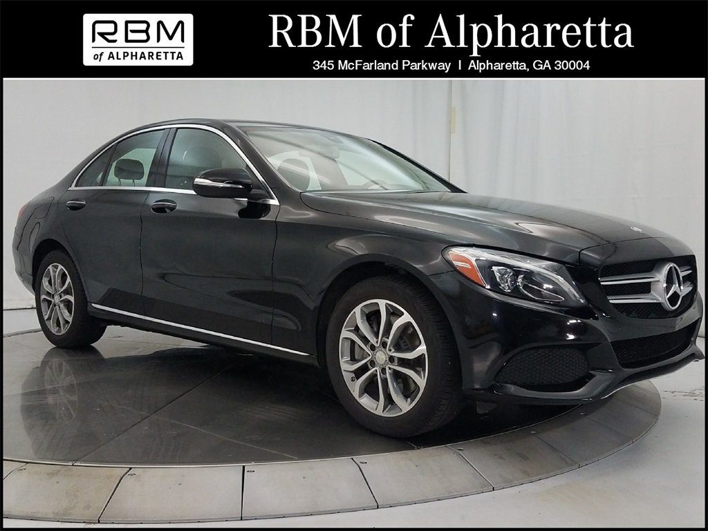 Certified pre owned 2015 mercedes benz c 300 sedan in for Mercedes benz rbm