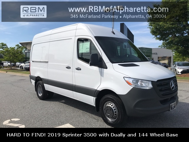 New 2019 Mercedes-Benz Sprinter Cargo Van 3500 Cargo with 144 Wheel Base