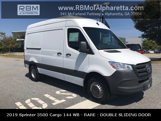New 2019 Mercedes-Benz Sprinter 3500 High Roof 144 Wheel Base