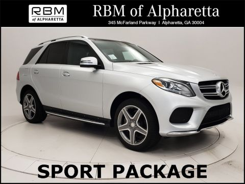 Certified Pre-Owned 2016 Mercedes-Benz GLE GLE 350 Sport