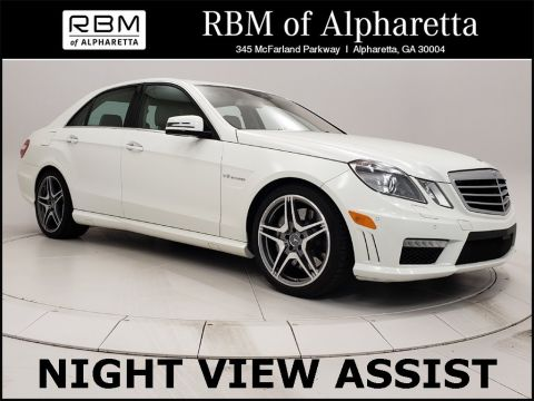 Pre-Owned 2012 Mercedes-Benz E-Class AMG® E 63